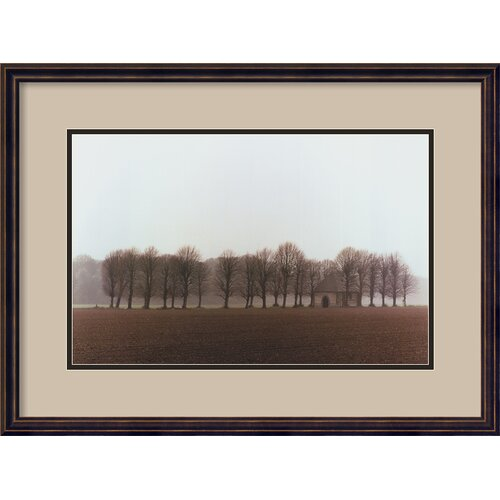 Amanti Art 'Vallee de la Somme, France' by Alan Klug, Framed Photographic Print