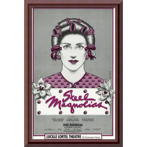 Steel Magnolias Framed Vintage Advertisement