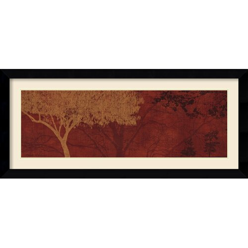 Amanti Art 'Whispers I' by Pela and Silverman Framed Painting Print