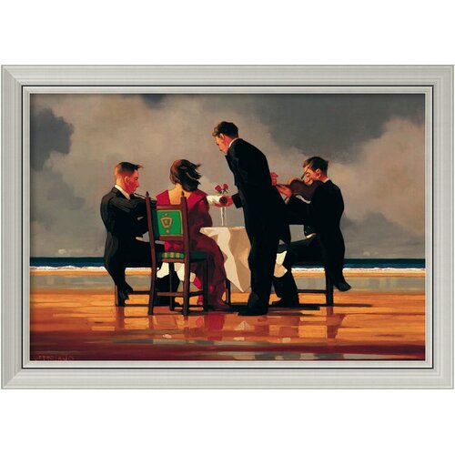 Amanti Art 'Elegy for the Dead Admiral' by Jack Vettriano Framed Painting Print