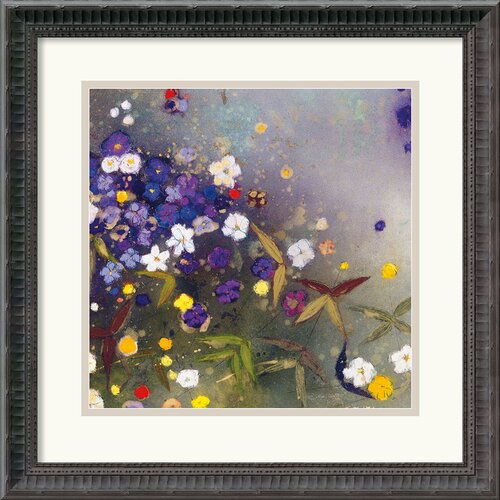 Amanti Art 'Gardens in the Mist IX' by Aleah Koury Framed Painting Print
