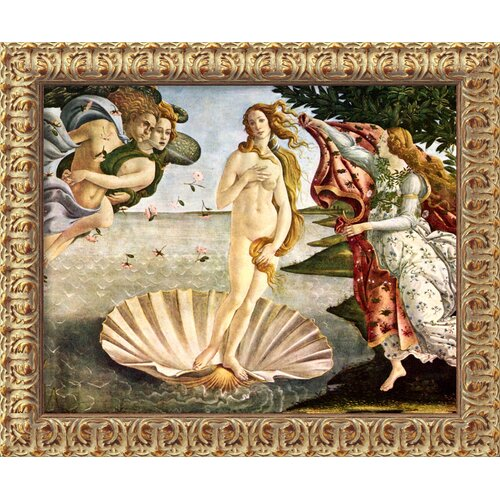 'The Birth of Venus' by Sandro Botticelli Framed Painting Print