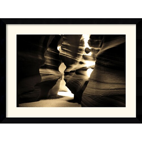Amanti Art 'Antelope Canyon' by Andy Magee Framed Photographic Print