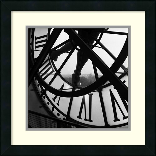 Amanti Art 'Orsay Clock' by Tom Artin Framed Photographic Print