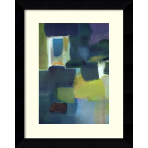 Amanti Art 'Entering the Poem' by Nancy Ortenstone Framed Painting Print