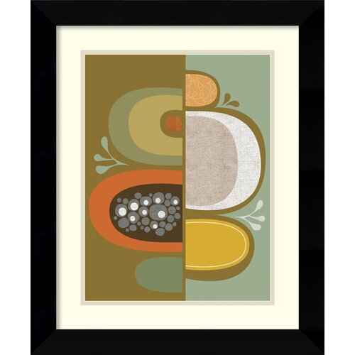 Amanti Art 'Division No. 2' by Jenn Ski Framed Painting Print
