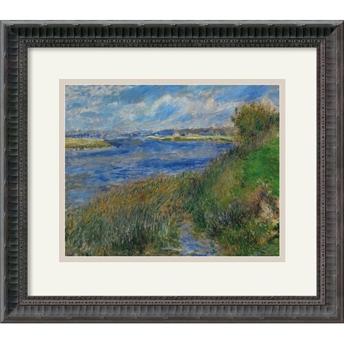 'La Seine a Champrosay - Banks of the Seine River at Champrosay' by Pierre Auguste ...