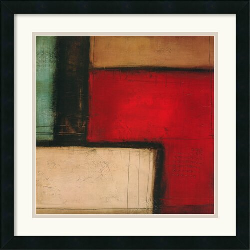Amanti Art 'Merge' by Candice Alford Framed Painting Print