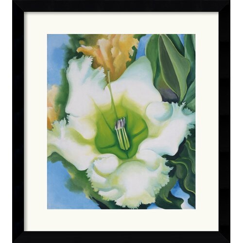 'Cup of Silver Ginger' by Georgia O'Keeffe Framed Painting Print