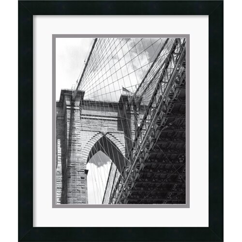 Amanti Art 'Under the Brooklyn Bridge' by Phil Maier Framed Photographic Print