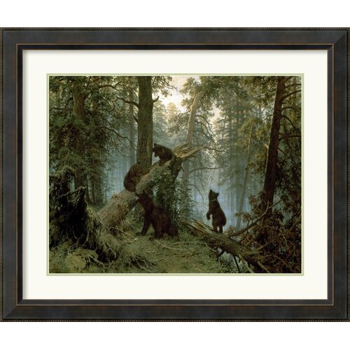 'Morning in a Pine Forest' by I. Shishkin Framed Painting Print