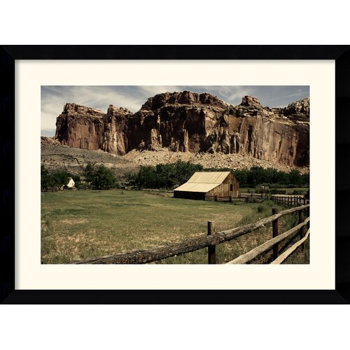 Amanti Art 'Fruita Barn' by Andy Magee Framed Photographic Print