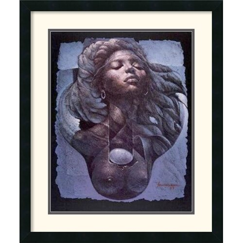Amanti Art 'Sensualite' by Lyonel Laurenceau Framed Graphic Art