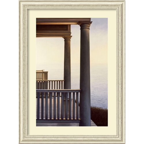 Amanti Art 'October Portico' by Daniel Pollera Framed Painting Print
