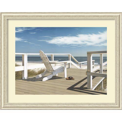 Amanti Art 'Sun Deck' by Daniel Pollera Framed Painting Print