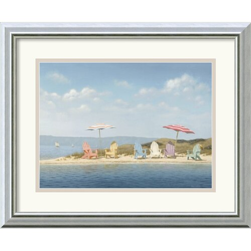 Amanti Art 'Summer Colors' by Daniel Pollera Framed Painting Print