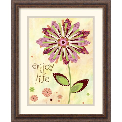 Amanti Art 'Petal Power I' by Wendy Bentley Framed Graphic Art