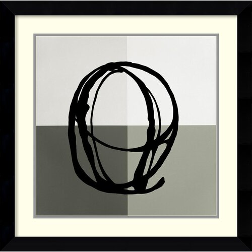 Amanti Art 'Swirl Pattern V' by Gregory Garrett Framed Graphic Art