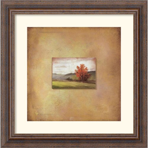 Amanti Art 'Crimson Tree' by Scott Duce Framed Graphic Art