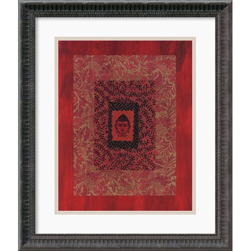 'Buddha I' by Ricki Mountain Framed Photographic Print