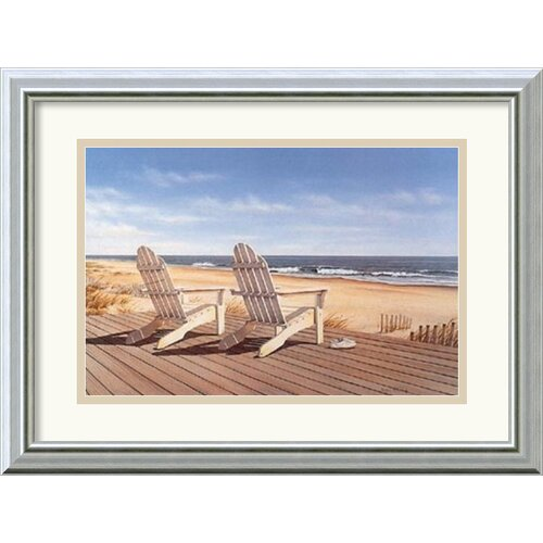 Amanti Art 'Point East' by Daniel Pollera Framed Painting Print