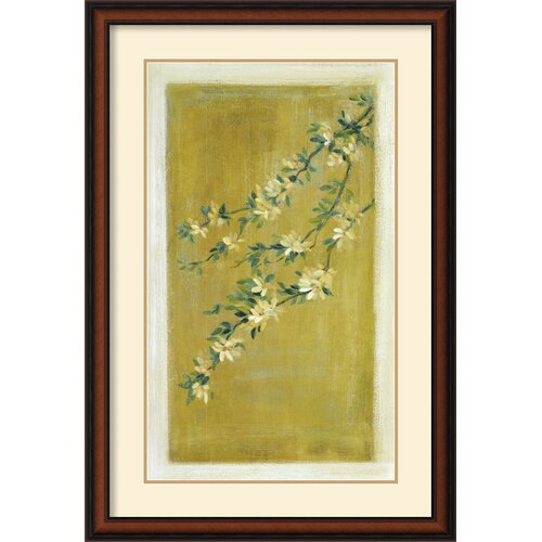 Amanti Art 'Plum Blossoms II' by Paris Gerrard Framed Painting Print
