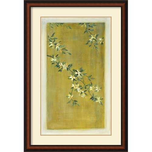 'Plum Blossoms I' by Paris Gerrard Framed Painting Prints