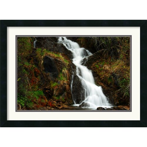'Mountain Waterfall' by Andy Magee Framed Photographic Print