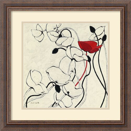 'Filament De Vie II' by Shirley Novak Framed Painting Print