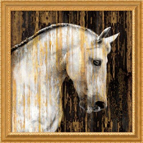 'Horse II' by Martin Rose Framed Art Print