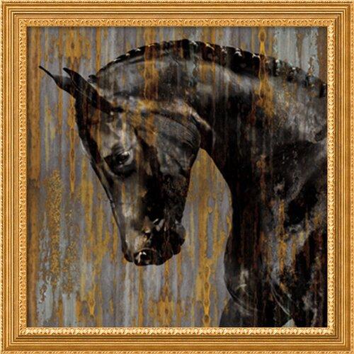 'Horse I' by Martin Rose Framed Art Print