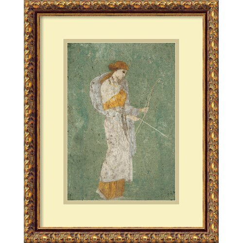 'Diana' by Pompeian Framed Painting Print