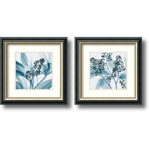 'Eucalyptus' by Steven N. Meyers 2 Piece Framed Graphic Art Set