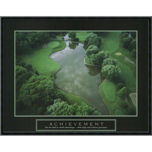 Amanti Art Achievement - Golf Course Framed Photographic Print