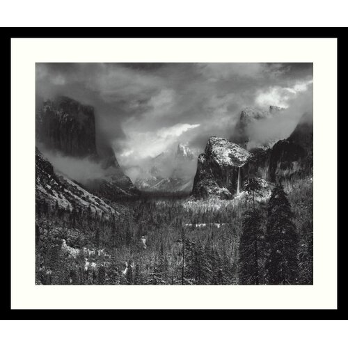 Amanti Art 'Clearing Winter Storm' by Ansel Adams Framed Photographic Print