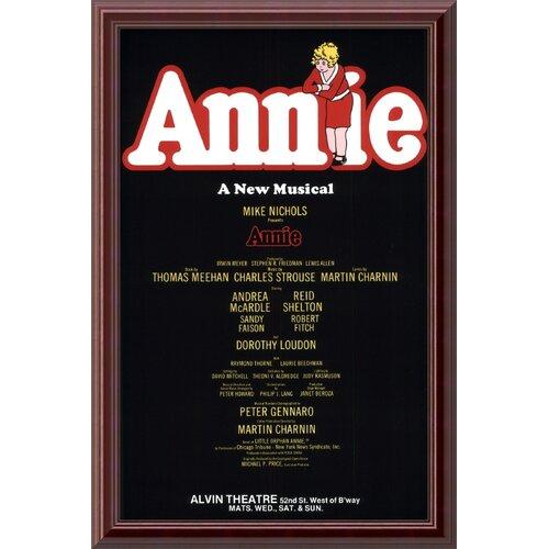 Annie (Original) Framed Textual Art