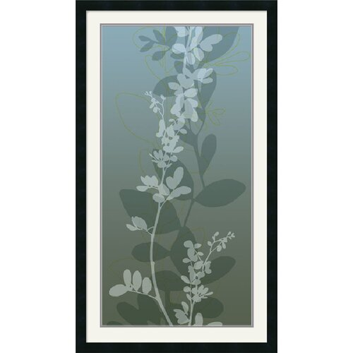 'Ascending Vine II' by Loka Framed Painting Print
