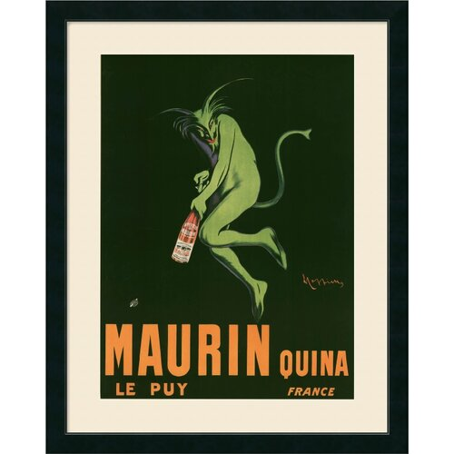 Amanti Art 'Maurin Quina' by Leonetto Cappiello Framed Graphic Art