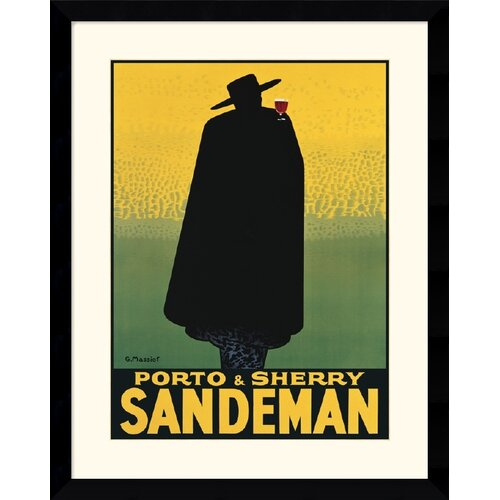 'Sandeman' by Georges Massiot Framed Graphic Art