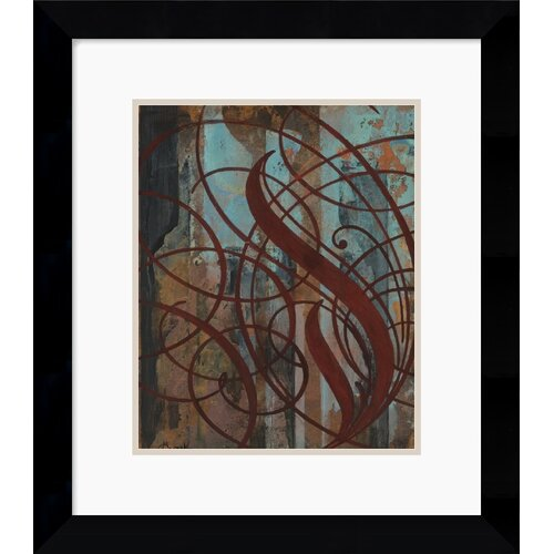 Amanti Art 'Gust' by Mick Gronek Framed Painting Print