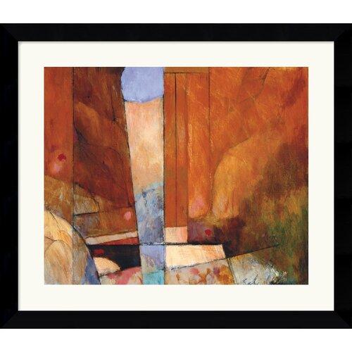 Amanti Art 'Canyon II' by Tony Saladino Framed Painting Print