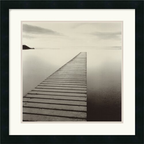'Plank Walk, Morecambe, Lancashire, England, 1992' by Michael Kenna Framed Photographic Print