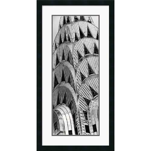'Chrysler Building' by Torsten Andreas Hoffman Framed Graphic Art