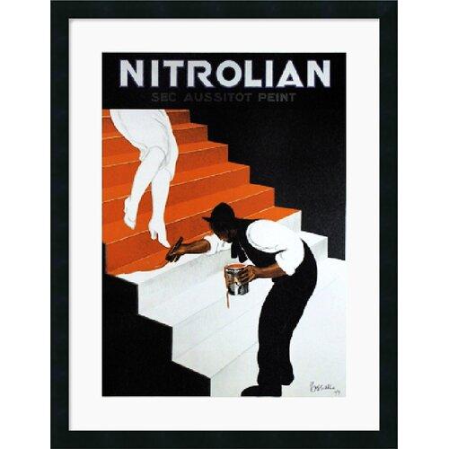 Amanti Art 'Nitrolian' by Leonetto Cappiello Framed Vintage Advertisement