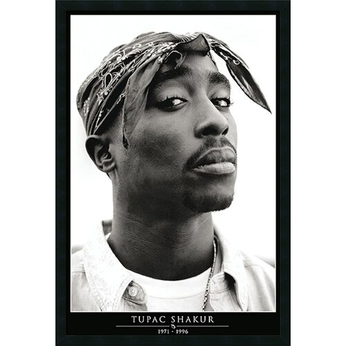 Tupac Amerikaz Most Wanted Framed Photographic Print