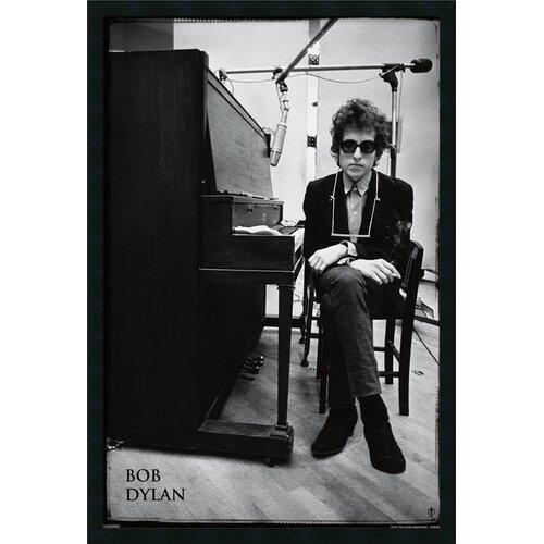 Amanti Art Bob Dylan Piano Framed Photographic Print