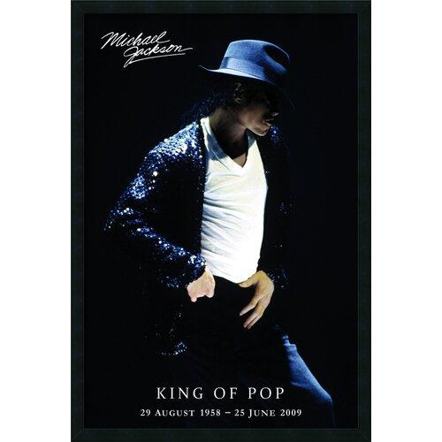 Michael Jackson King of Pop Framed Photographic Print