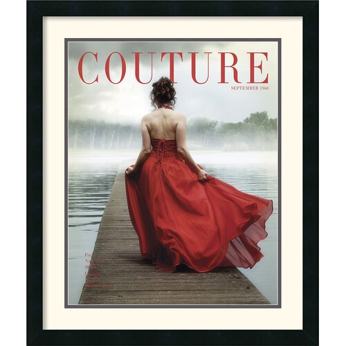 'Couture September' by HC Archives Framed Vintage Advertisement