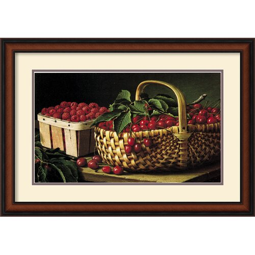 Amanti Art 'Still Life with Berries' by L.W. Prentice Framed Photographic Print