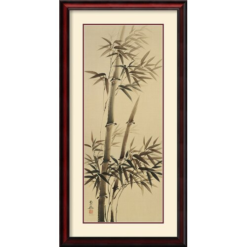 'Bamboo Forever I' by Kee Hee Lee Framed Painting Print